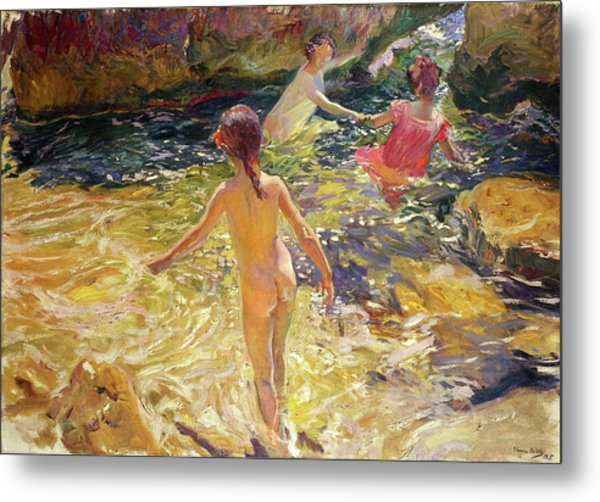 The Bath, Javea - Digital Remastered Edition Metal Print