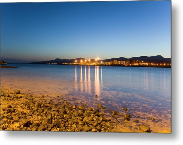 The Beach Of Playa De El Castillo Metal Print by Maremagnum