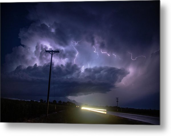 The Best Supercell Of The Summer 043 Metal Print