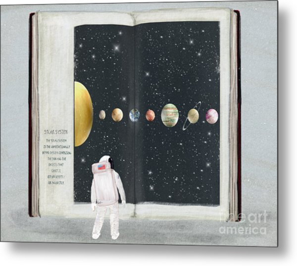 The Big Book Of Stars Metal Print by Bri Buckley