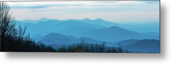 Metal Print featuring the photograph The Blue Ridge Mountains by Mark Duehmig