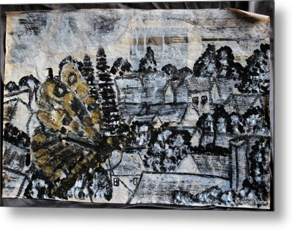 The Butterfly Affect Metal Print