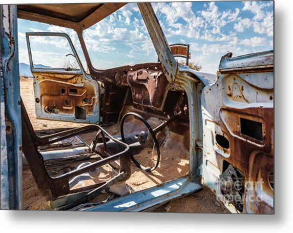 The Car Is Open, Please Come In Metal Print