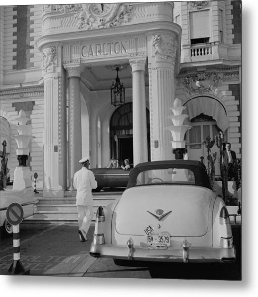 The Carlton Hotel Metal Print by Slim Aarons