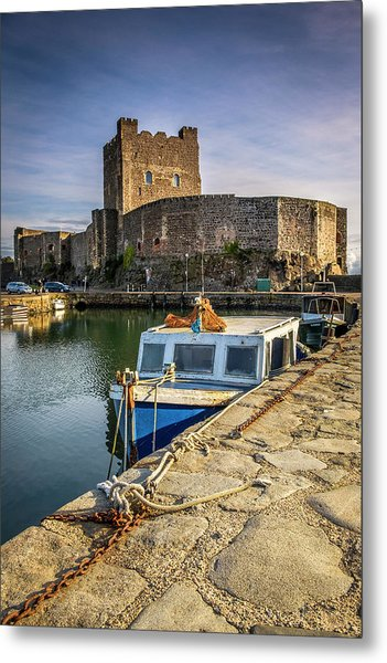The Castle Harbour Metal Print