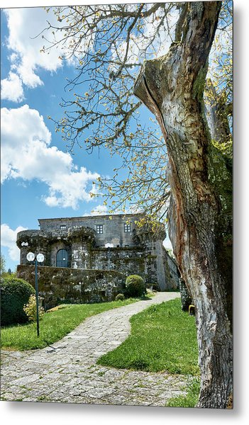 The Castle Of Villamarin Metal Print