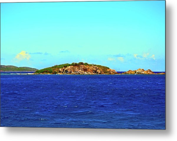 The Cay Metal Print