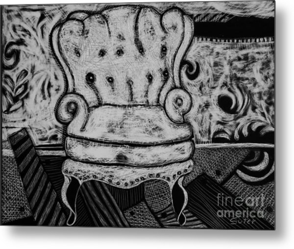 The Chair. Metal Print