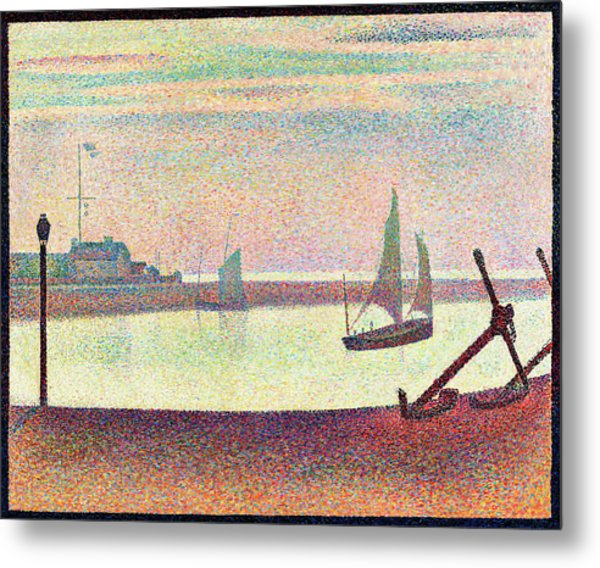 The Channel At Gravelines, Evening - Digital Remastered Edition Metal Print