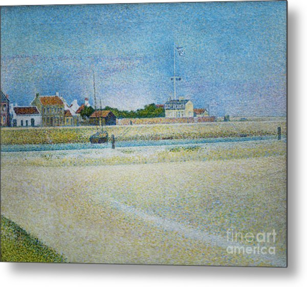 The Channel Of Gravelines Grand Fort Philippe Metal Print