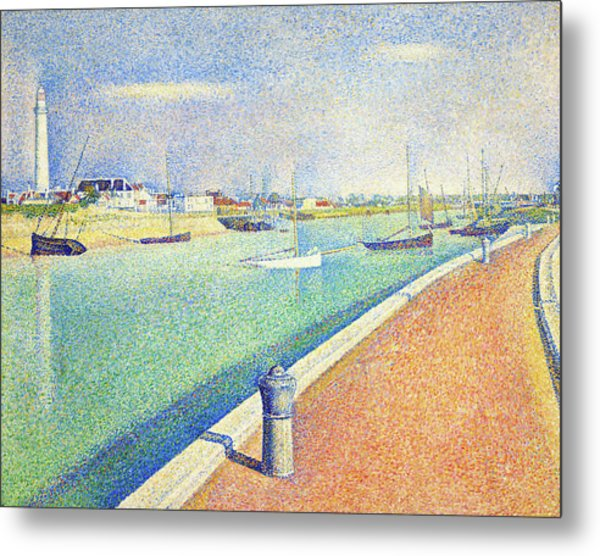The Channel Of Gravelines, Petit Fort Philippe - Digital Remastered Edition Metal Print