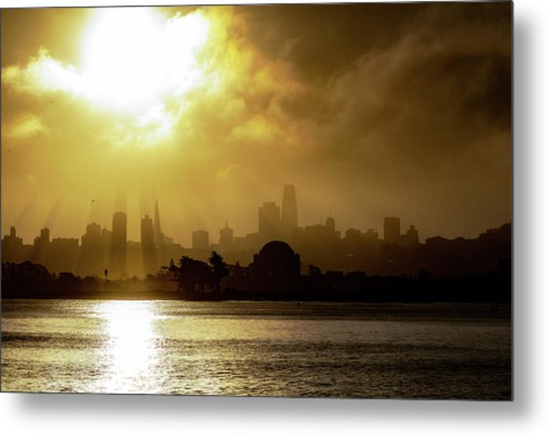 Metal Print featuring the photograph The City by Philip Rodgers