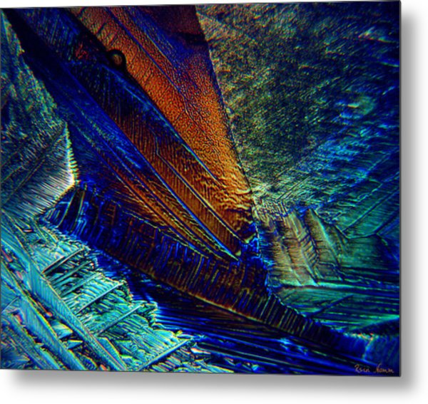 Metal Print featuring the photograph The Crash by Rein Nomm