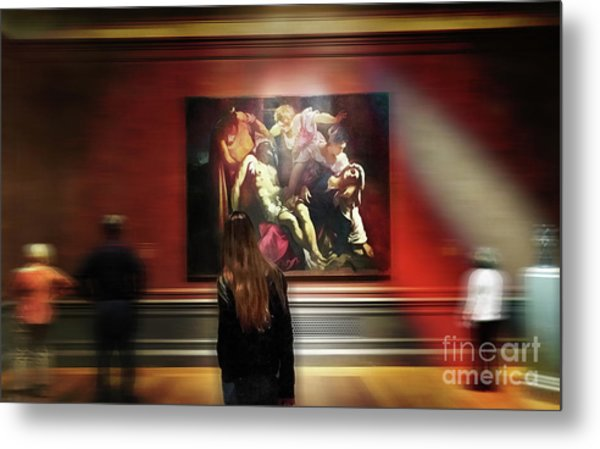 The Deposition Of Christ Metal Print by Steven Digman