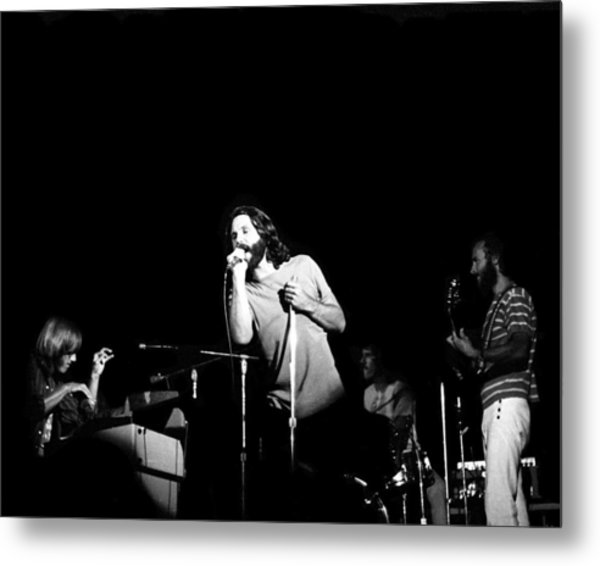 The Doors Live Metal Print by Larry Hulst