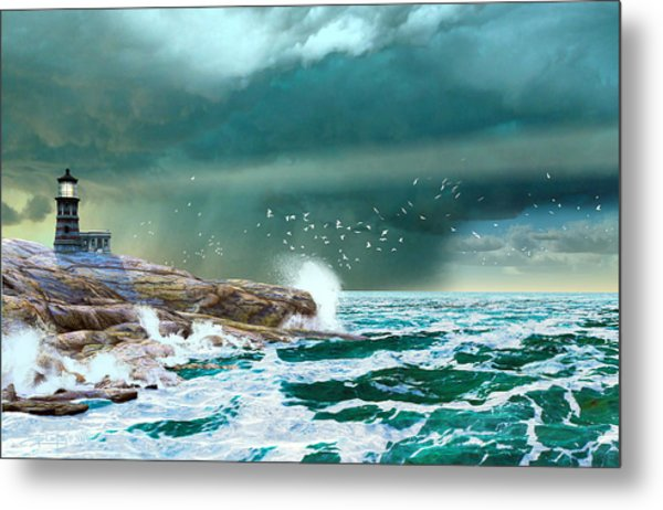 The Eye Of Neptune Metal Print