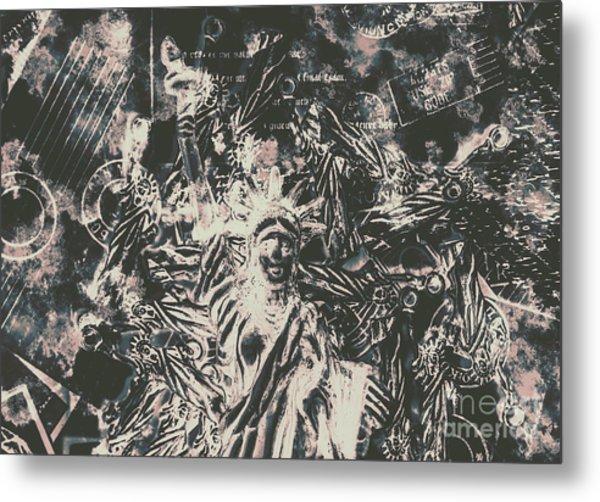 The Fall Of False Idols Metal Print