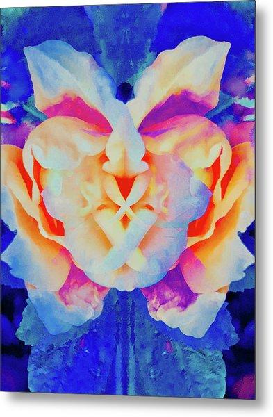 The Flower King Metal Print