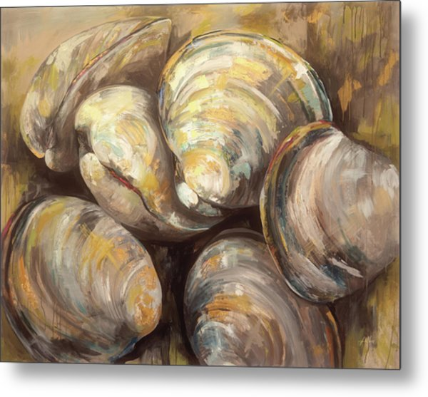 The Gang Of Quahogs Metal Print by Jeanette Vertentes