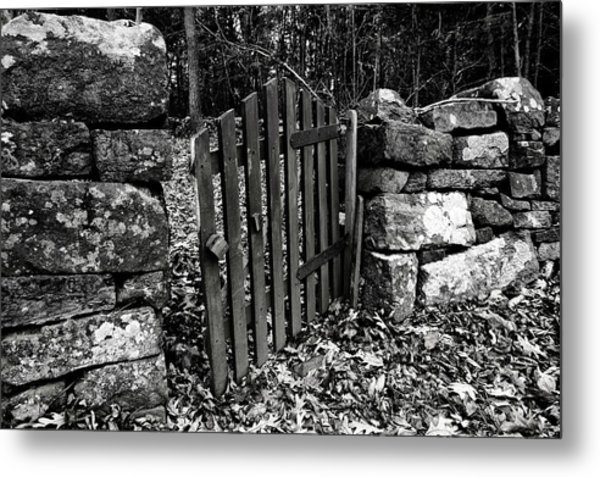 The Garden Entrance Metal Print