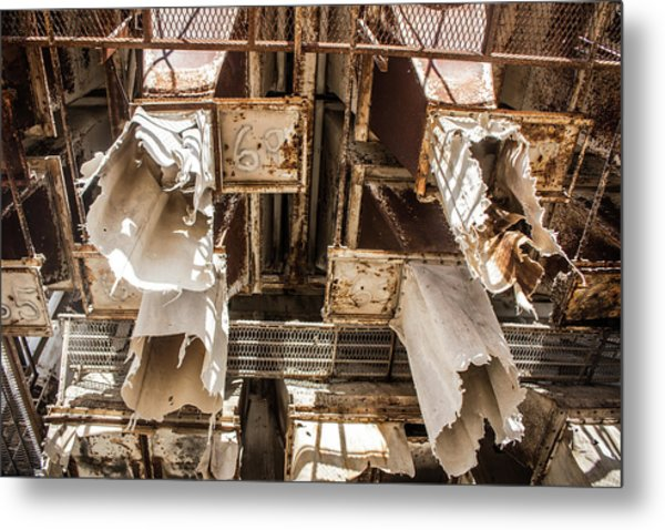The Ghost Of Factories Past Metal Print