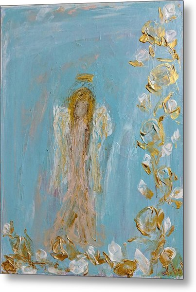 The Golden Child Angel Metal Print
