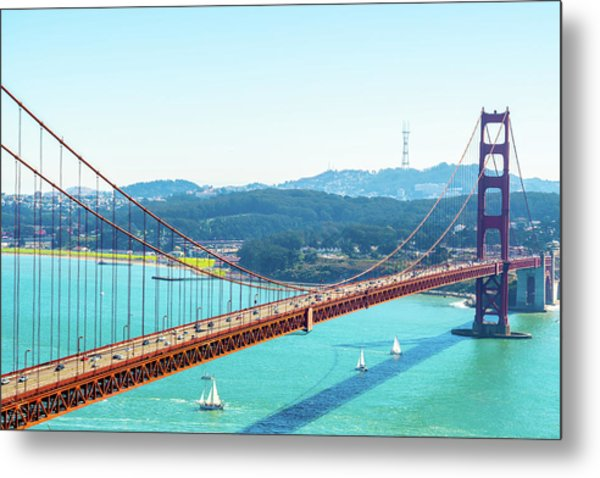 The Golden Gate Bridge I Metal Print