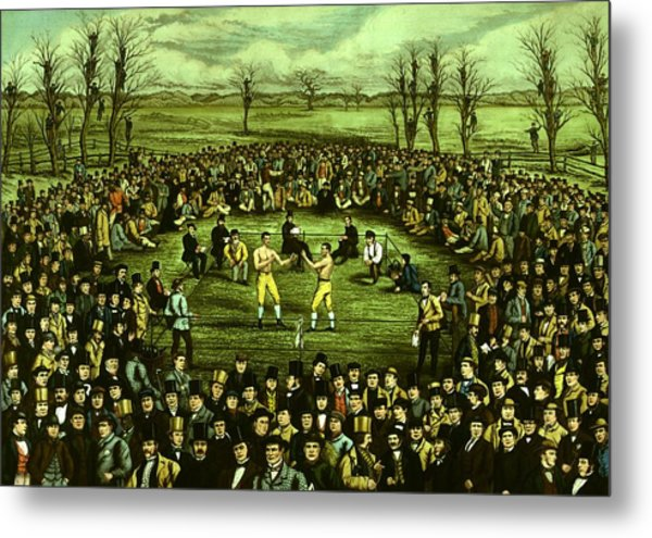 The Great Contest Metal Print by Hulton Archive