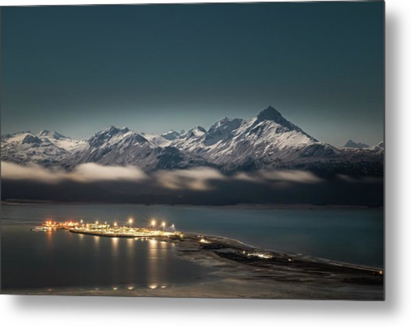 The Homer Spit Metal Print