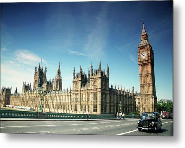 The Houses Of Parliament & Big Ben Metal Print by Cezary Zarebski Photogrpahy