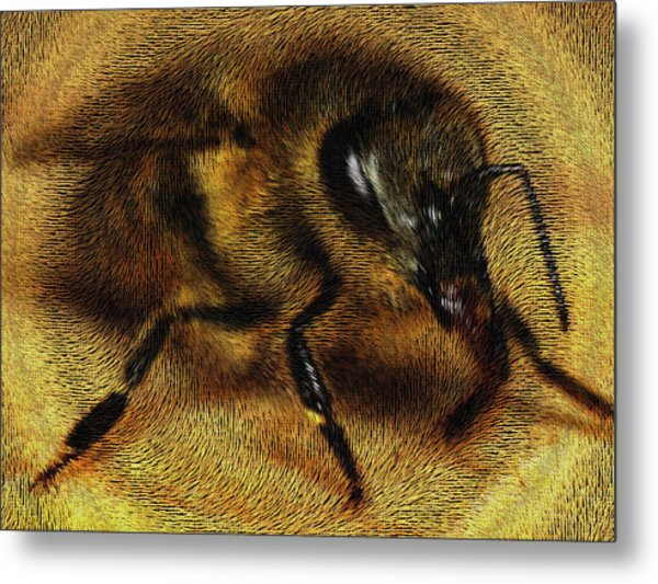 The Killer Bee Metal Print