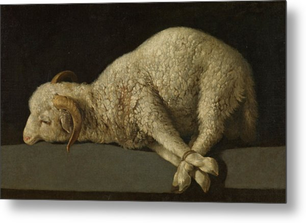 The Lamb Of God, Agnus Dei Metal Print