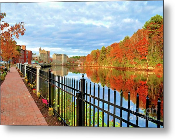 The Lamprey River Metal Print