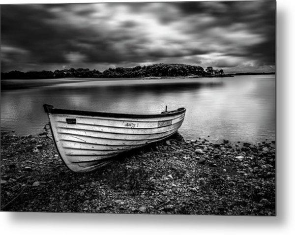 The Lone Boat Metal Print