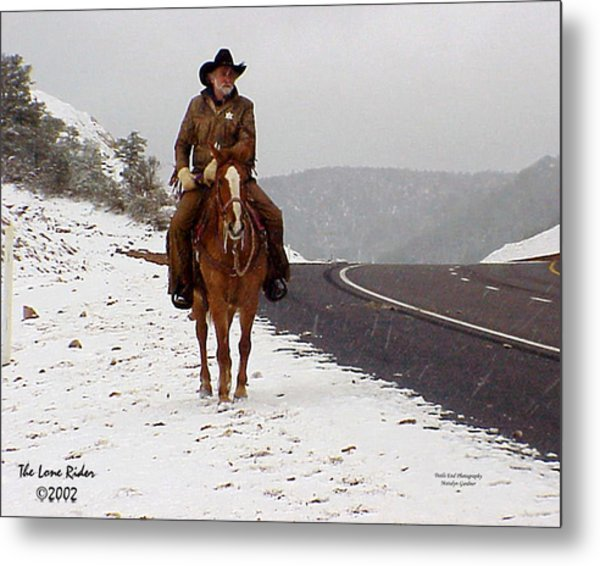 The Lone Ranger Metal Print