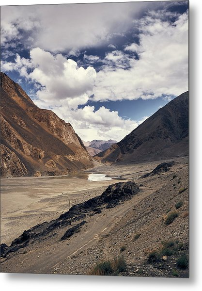 Metal Print featuring the photograph The Long Journey by Whitney Goodey