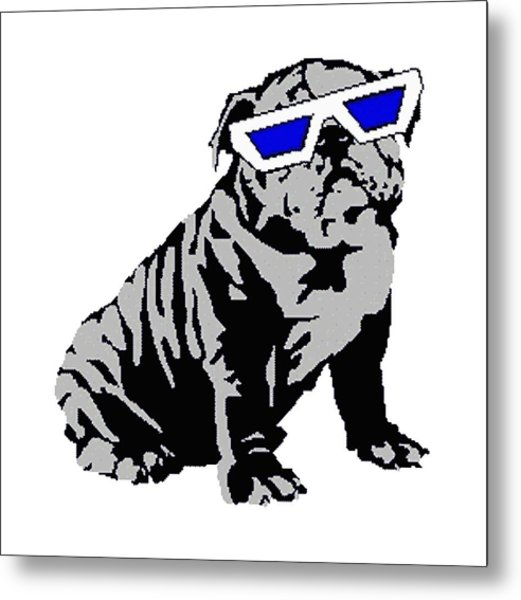 The Lucky Puppy Metal Print