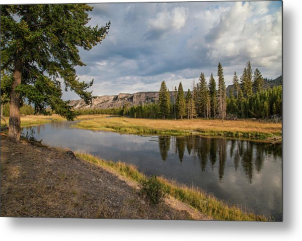 Metal Print featuring the photograph The Madison River At West Yellowstone by Lon Dittrick