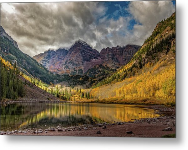 The Maroon Bells - Aspen, Colorado Metal Print