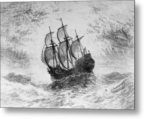 The Mayflower Metal Print by Three Lions