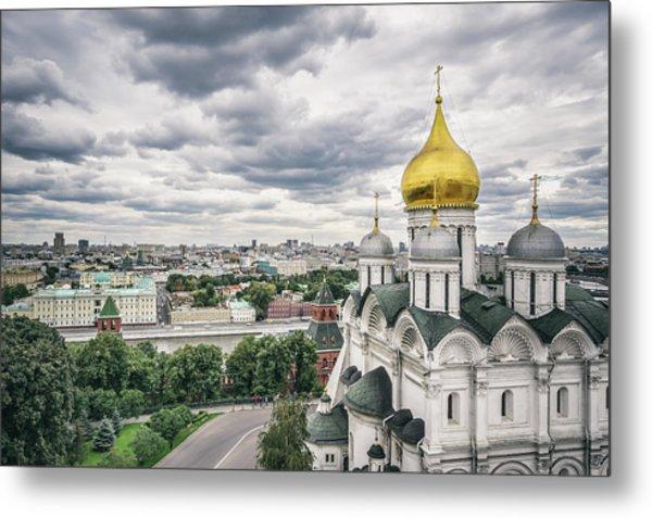 The Moscow Kremlin Metal Print by Yongyuan Dai