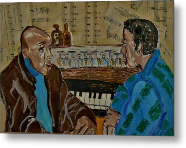 the Musicians Metal Print