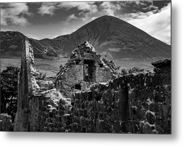 Murrisk Abbey At The Bottom Of Croagh Patrick Metal Print