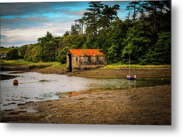 The Old Boat House Metal Print