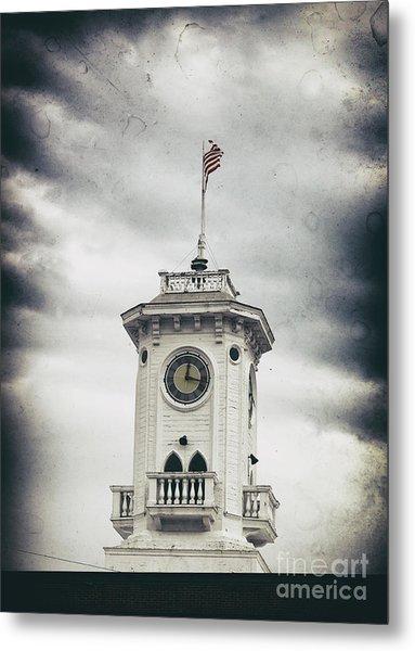 The Old Clocktower  Metal Print by Steven Digman