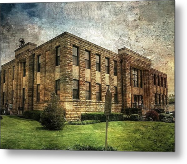 The Old County Courthouse Metal Print