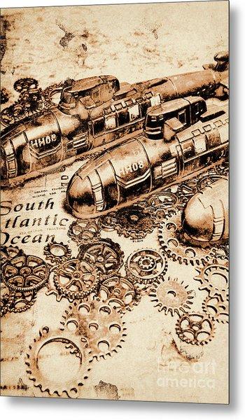 The Old Naval War Room Metal Print