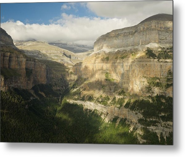 Metal Print featuring the photograph The Ordesa Valley by Stephen Taylor