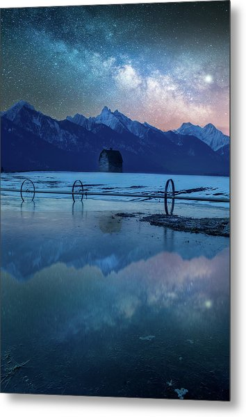 The Original Montana Dream /  Ronan, Montana Metal Print