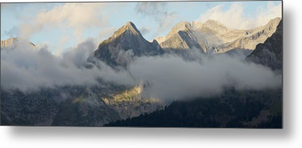 Metal Print featuring the photograph The Ossau Valley  by Stephen Taylor